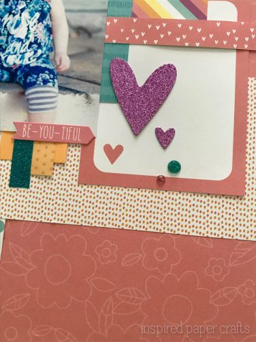 #CTMHLittleDreamer - Girl Themed Layout - Inspired Paper Crafts - Watermarked-6