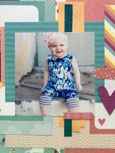 #CTMHLittleDreamer - Girl Themed Layout - Inspired Paper Crafts - Watermarked-7