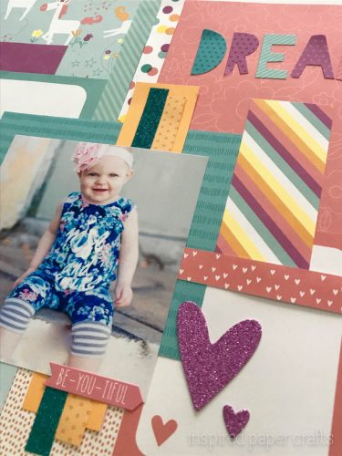 #CTMHLittleDreamer - Girl Themed Layout - Inspired Paper Crafts - Watermarked-8
