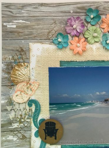 #CTMHNoWorries - Beach Themed Layout - Inspired Paper Crafts - Watermarked-2