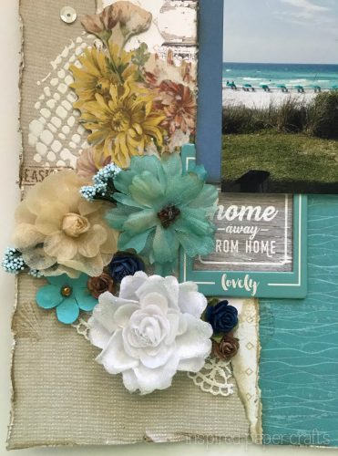 #CTMHNoWorries - Beach Themed Layout - Inspired Paper Crafts - Watermarked-6