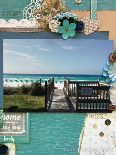 #CTMHNoWorries - Beach Themed Layout - Inspired Paper Crafts - Watermarked-7