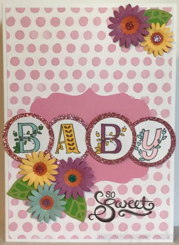#CTMHStampofthemonth - Alphabet Storybook Baby Card - Inspired Paper Crafts - Watermarked