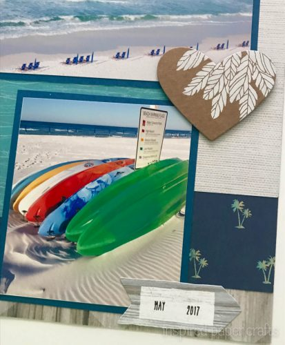 #CTMHNoWorries - Beach Themed Layout - Inspired Paper Crafts - Watermarked-5