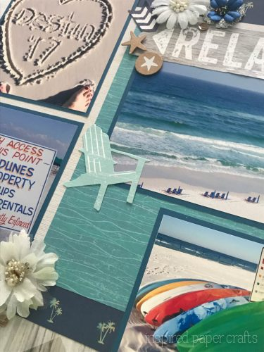 #CTMHNoWorries - Beach Themed Layout - Inspired Paper Crafts - Watermarked-8