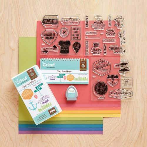 Cricut® You Are Here Collection (physical cartridge) Item Number- Z3389