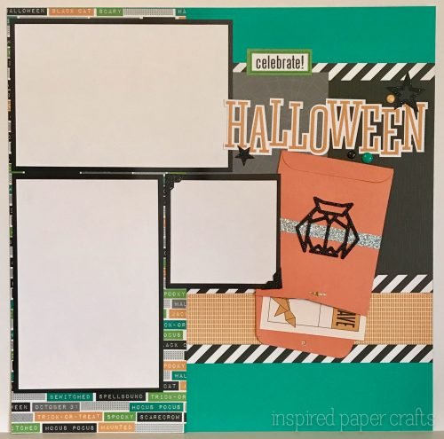 #CTMHcats&bats - Beware - Halloween themed Layout - Inspired Paper Crafts - Watermarked-3