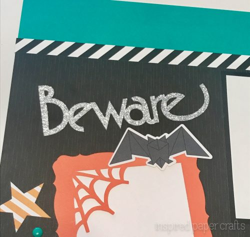 #CTMHcats&bats - Beware - Halloween themed Layout - Inspired Paper Crafts - Watermarked-4