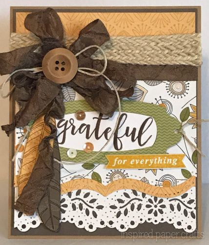 #CTMHfallingforyou - Beware - Grateful for everything - Fall Themed Card- Inspired Paper Crafts - Watermarked