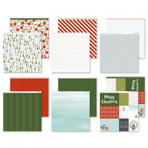 Beary Christmas Paper Packet (X7225B)