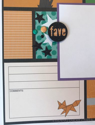 #CTMHcats&bats - Halloween themed layouts -Inspired Paper Crafts - Watermarked-2