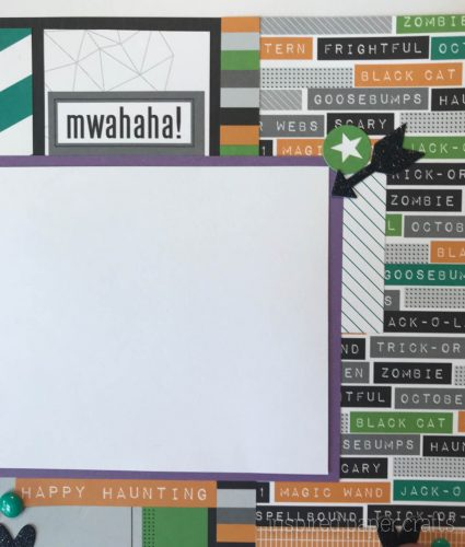 #CTMHcats&bats - Halloween themed layouts -Inspired Paper Crafts - Watermarked-3