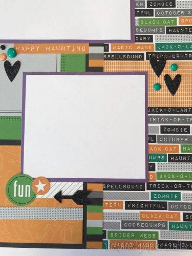 #CTMHcats&bats - Halloween themed layouts -Inspired Paper Crafts - Watermarked-4