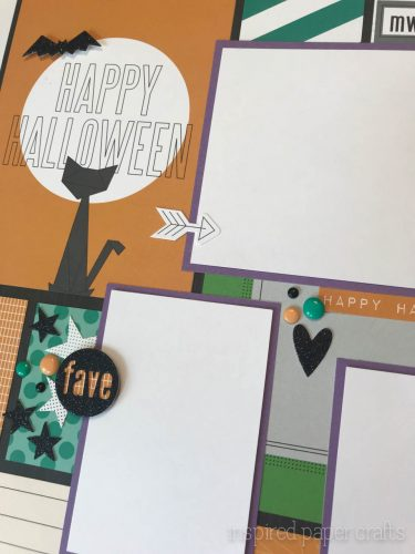 #CTMHcats&bats - Halloween themed layouts -Inspired Paper Crafts - Watermarked-5