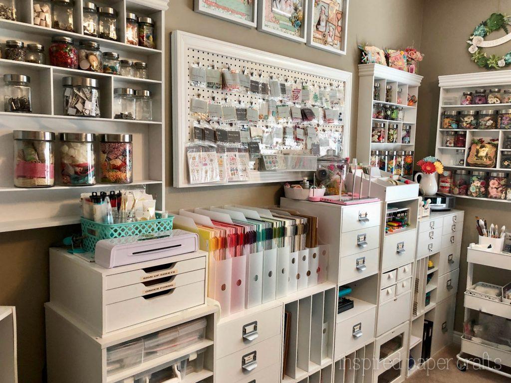 #Craftroomorganization -Inspired Paper Crafts - Watermarked