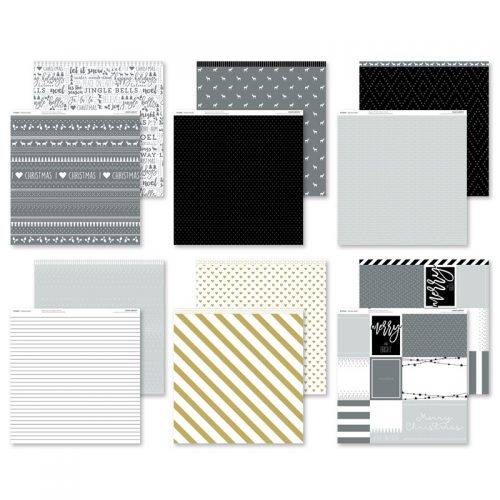 Silver & Gold Paper Packet (X7226B)