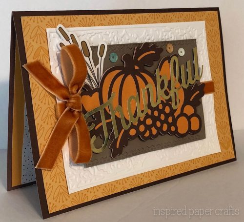 #CTMHFallingForYou Thankful Card -Inspired Paper Crafts - Watermarked