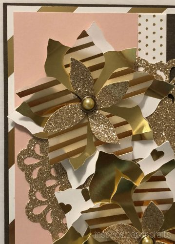#CTMHSilver&Gold - Gold Poinsettias- Christmas Card -Inspired Paper Crafts - Watermarked-3