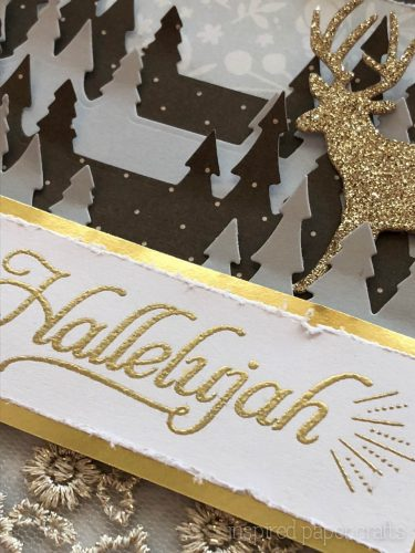 #CTMHSilver&Gold - Hallelujah- Christmas Card -Inspired Paper Crafts - Watermarked-8