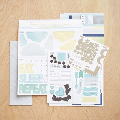 Cut Above® Layout Kit—The Story Begins (Baby Boy) Item Number- Z3382