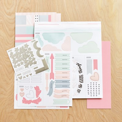 Cut Above® Layout Kit—The Story Begins (Baby Girl) Item Number- Z3383