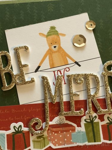 #CTMHBearyChristmas - Be Merry - Christmas Card -Inspired Paper Crafts - Watermarked-5