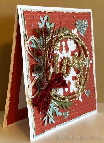 #CTMHBearyChristmas - JOY - Christmas Card -Inspired Paper Crafts - Watermarked-2