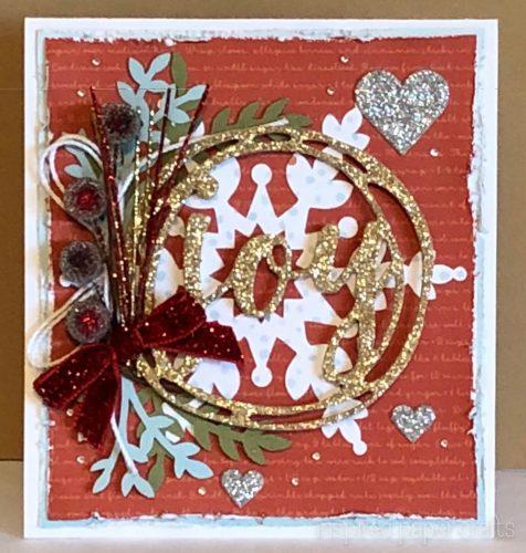 #CTMHBearyChristmas - JOY - Christmas Card -Inspired Paper Crafts - Watermarked