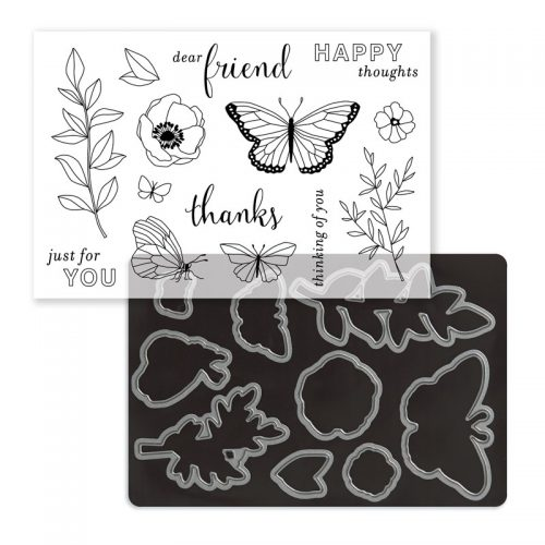 Chelsea Gardens Cardmaking Stamp + Thin Cuts