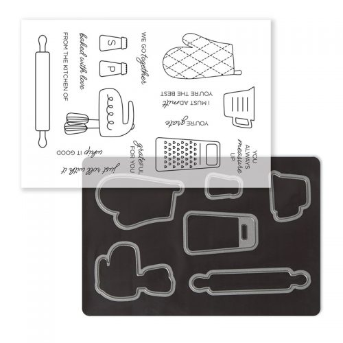 Gimme Some Sugar Cardmaking Stamp + Thin Cuts (Z4156)