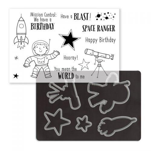 Stargazer Cardmaking Stamp + Thin Cuts (Z4157)