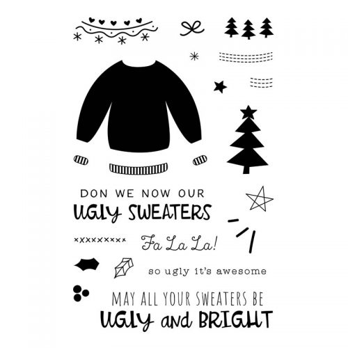 Ugly Christmas Sweater Cards